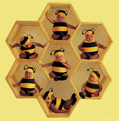Bee Wall Art - Photograph - The Beehive by Anne Geddes