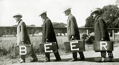 Cop Photograph - The Beer Boys by Jon Neidert
