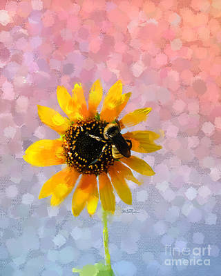 Art Print featuring the photograph The Bee's Knees by Betty LaRue