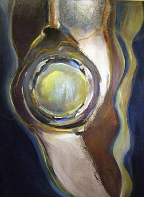 Painting - The Beginning by Janet Visser