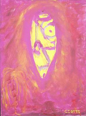 Haitian Painting - The Beginning by Randall Ciotti