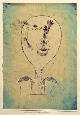 Painting - The Beginnings Of A Smile by Paul Klee