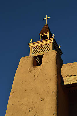 Photograph - The Belfry At San Jose De Gracia by Nadalyn Larsen