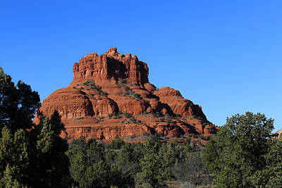 Photograph - The Bell  2 Red Rock Loop Sedona by Mary Bedy