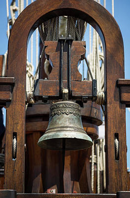 Photograph - The Bell Of The Tall Ship by Dale Kincaid