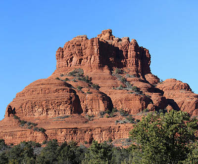 Photograph - The Bell Red Rock Loop Sedona by Mary Bedy