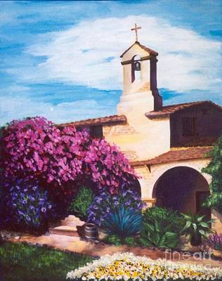 Painting - The Bell Tower by Pat Heydlauff