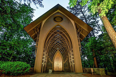 Photograph - The Bella Vista Arkansas Mildred B. Cooper Memorial Chapel by Gregory Ballos