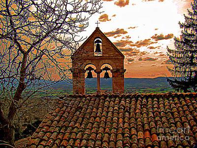 Photograph - The Bells Of Santa Croce - 13th Century by Al Bourassa