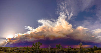 Photograph - The Belly Of The Beauty And The Beast Smoke by John Brink