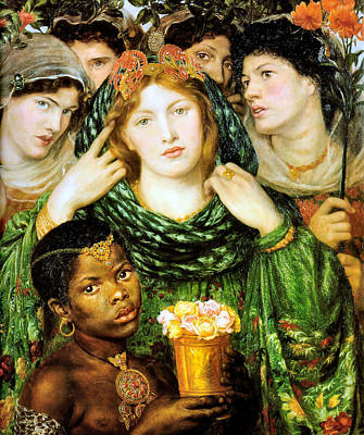 Painting - The Beloved 1865 by Dante Gabriel Rossetti