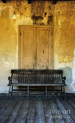 Photograph - The Bench I by Debra Fedchin