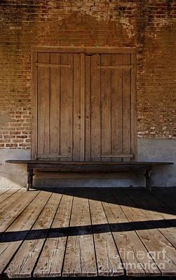 Photograph - The Bench IIi by Debra Fedchin