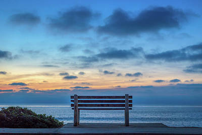 Photograph - The Bench Vi by Peter Tellone