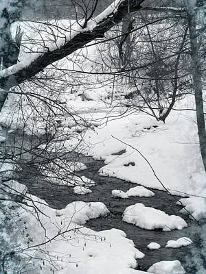 Photograph - The Bend Of Winter by Debra     Vatalaro