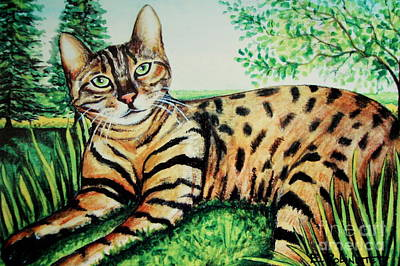 Painting - The Bengal by Elizabeth Robinette Tyndall