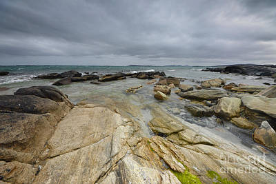 Berneray Photograph - The Berneray Coast by Nichola Denny