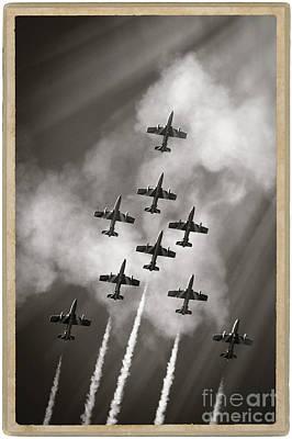 The Best Aerobatic Team Art Print