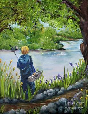 Painting - The Best Spot by Carol Sweetwood