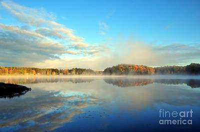 Fog Photograph - The Best Things In Life Are Free by Terri Gostola
