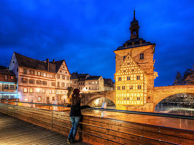 Bamberg Photograph - The Best View, Bamberg, Germany by Nico Trinkhaus