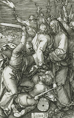 Relief - The Betrayal Of Christ by Albrecht Durer