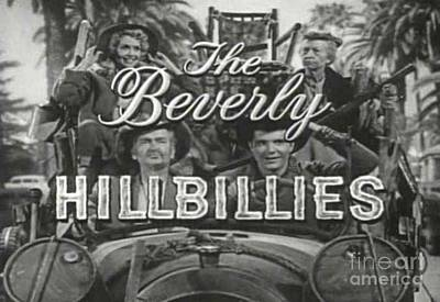 Irene Ryan Photograph - The Beverly Hillbillies Show by Pd