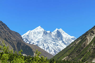 Photograph - The Bhagirati Peaks by Nila Newsom