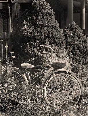 The Bicycle Garden II Art Print by Jim Furrer
