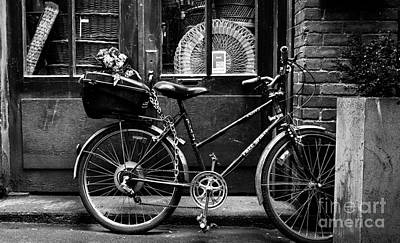 Photograph - The Bicycle by Jim Crawford