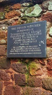 Photograph - The Bideford Witches In Devon by Richard Brookes