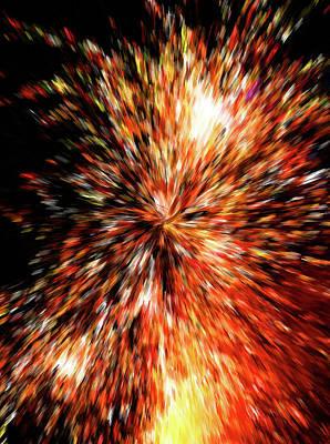 Photograph - The Big Bang by HH Photography of Florida
