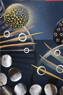 The Big Bang Art Print by Michal Mitak Mahgerefteh
