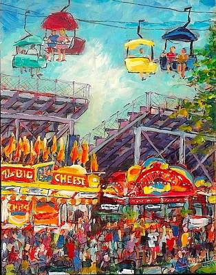 Painting - The Big Cheese by Les Leffingwell