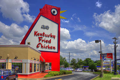 Pucketts Photograph - The Big Chicken Marietta Georgia by Reid Callaway