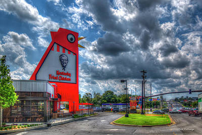 Photograph - The New Big Chicken Hwy 41 Cobb Parkway Art by Reid Callaway