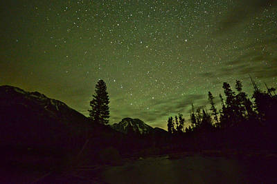 Photograph - The Big Dipper Over Mount Moran by Don Mercer