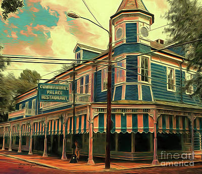 Digital Art - The Big Easy Palace by Bill And Deb Hayes