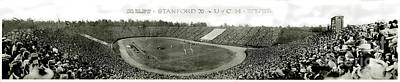 Stanford University Photograph - Stanford And U Of C 1925 by Jon Neidert