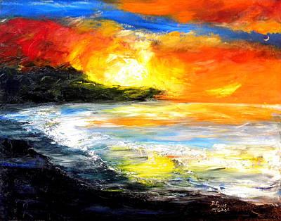 Painting - The Big Island by David McGhee