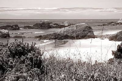 Photograph - The Big Rock And The Pacific by Kirsten Giving