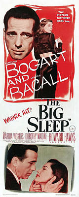 Mixed Media - The Big Sleep 4 by Movie Poster Prints