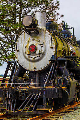 The Big Southern Pacific Lines Engine 90 Art Print by Garry Gay