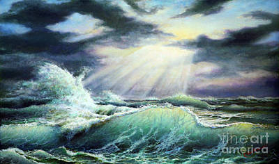 Painting - The Big Storm by Miki Karni