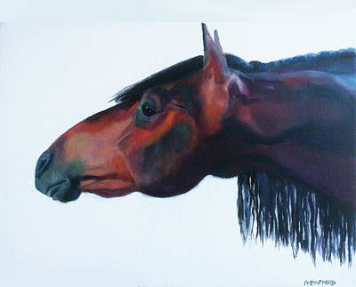 Wall Art - Painting - The Big Stretch by Alison Stafford