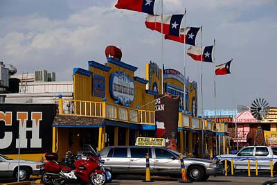 Amarillo Texas Photograph - The Big Texan In Amarillo by Susanne Van Hulst