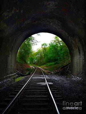 Photograph - The Big Tunnel by Julie Dant