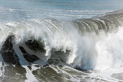 Pacifica Photograph - The Big Wave by Ana V Ramirez