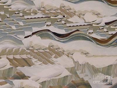 Digital Art - The Big Wave by Nancy Kane Chapman