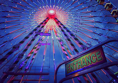 Photograph - The Big Wheel by Heidi Hermes